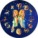 Gemini Clock Star Signs Horoscope by Gotcha29
