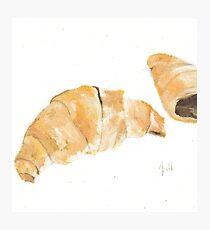 Croissants Photographic Print