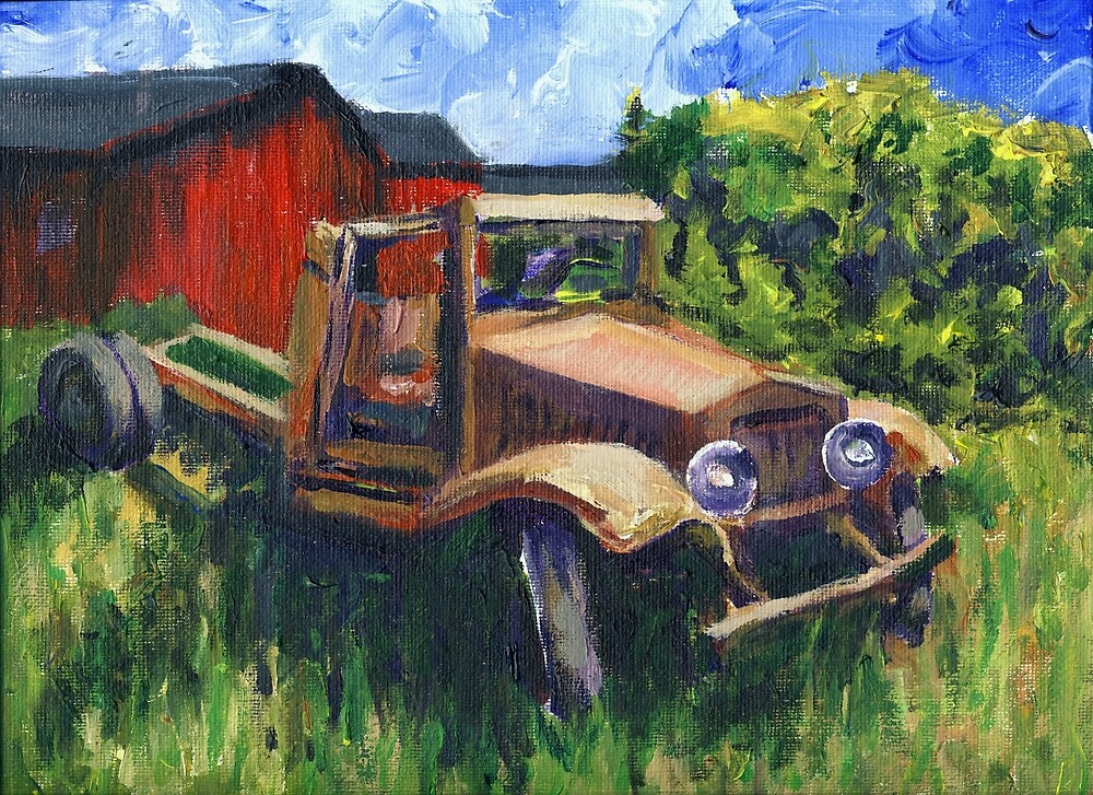 My 1931 International Truck by Randy Sprout