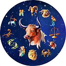 Taurus Clock Star Signs Horoscope by Gotcha29