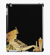 Nouveau Woman with Paintbrush  iPad Case/Skin