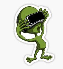 VR Alien Sticker