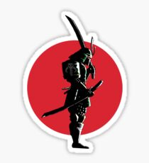 Bounty Hunter Samurai Sticker