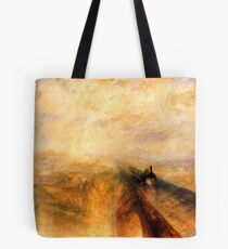 Rain, Steam and Speed ​​turner Tote Bag