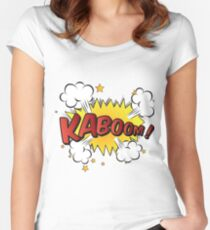 KABOOM! Fitted Scoop T-Shirt