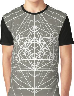 Metatron Cube Expanded Graphic T-Shirt