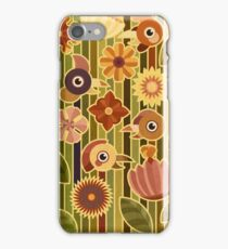 Fowls and Flowers iPhone Case/Skin