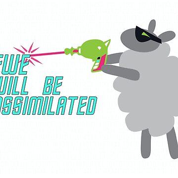 Ewe will be assimilated. by beckarahn