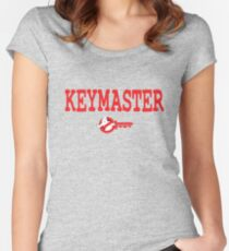 Keymaster Women's Fitted Scoop T-Shirt