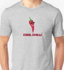 Cool Chilli - Red Hot Pain Burn Food Yum - Toon T-Shirt Sticker T-Shirt