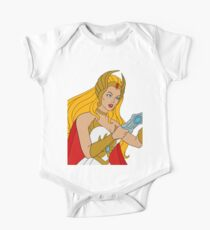 She-ra filmation style One Piece - Short Sleeve