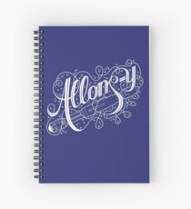 Allons-y! Spiral Notebook