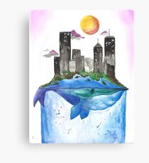 A Tail of Two Cities Canvas Print