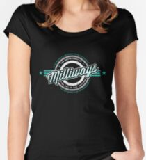 Milliways Women's Fitted Scoop T-Shirt