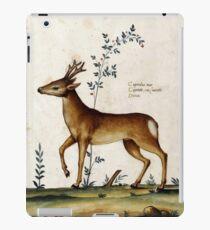 The Italian Deer (16th Century) iPad Case/Skin