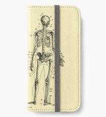 Anatomy: The Skeletal System Ver.Bone iPhone Wallet/Case/Skin