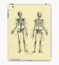 Anatomy: The Skeletal System Ver.Bone iPad Case/Skin