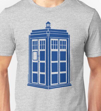 Colour Me Tardis Unisex T-Shirt