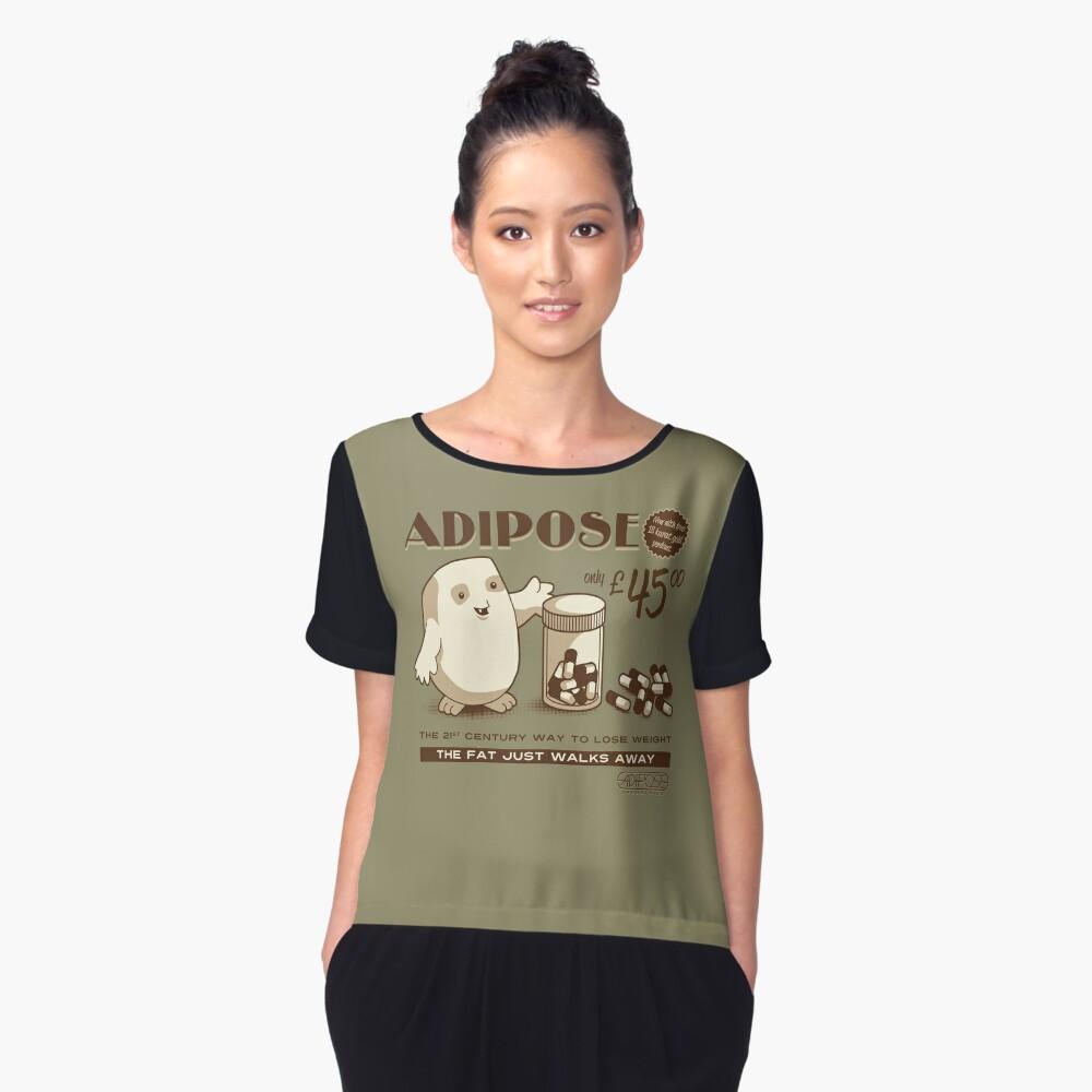 Adipose Women's Chiffon Top Front