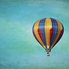 Vintage hot air balloon by Karol Franks