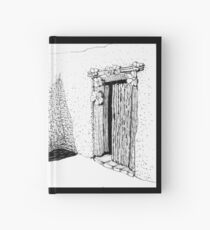Entry to DeGrazia's Chapel Hardcover Journal