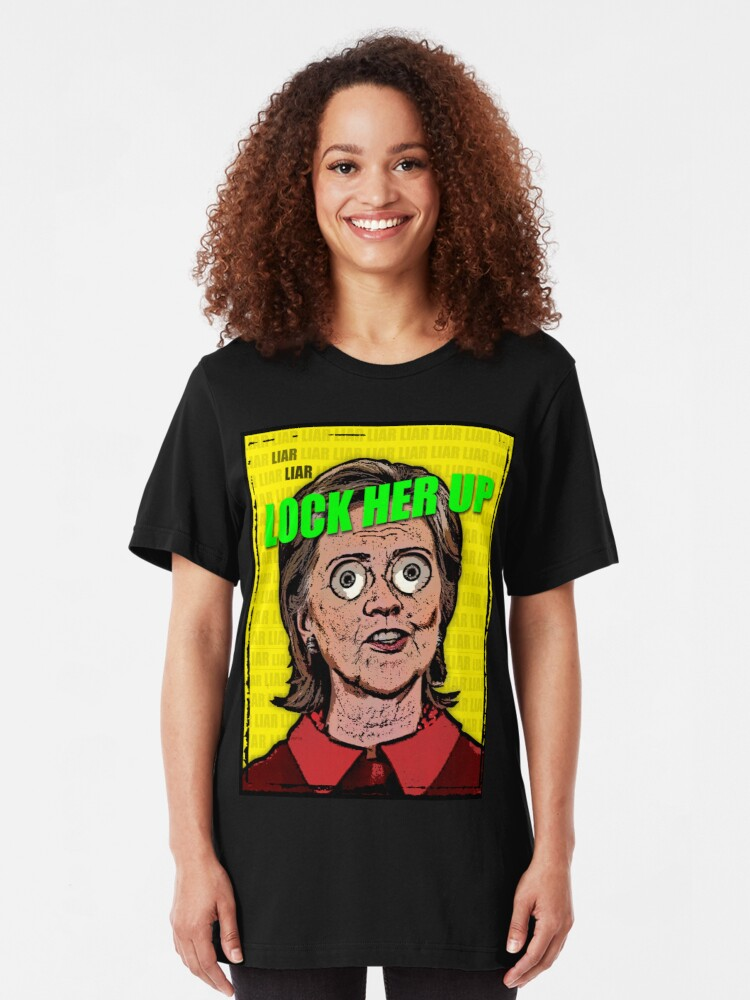 Alternate view of Lock Her Up Slim Fit T-Shirt