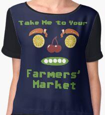 Farmers' Market Chiffon Top