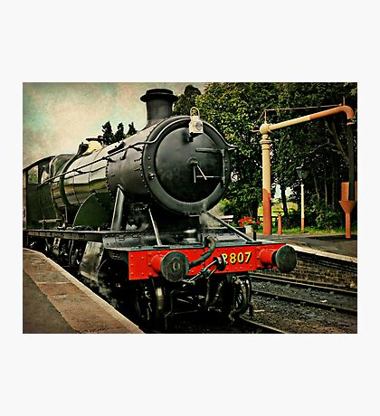 Heavy Goods Steam Train Photographic Print