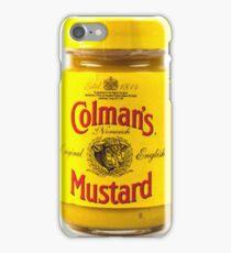 English Mustard Design iPhone Case/Skin