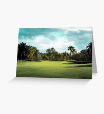 Golf Day Troubles Greeting Card
