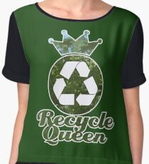 Recycle Queen Chiffon Top