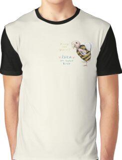 Rhea - Always Bee Yourself Graphic T-Shirt