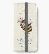 Rhea - Always Bee Yourself iPhone Wallet/Case/Skin
