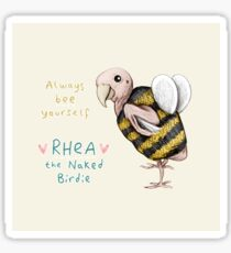 Rhea - Always Bee Yourself Sticker