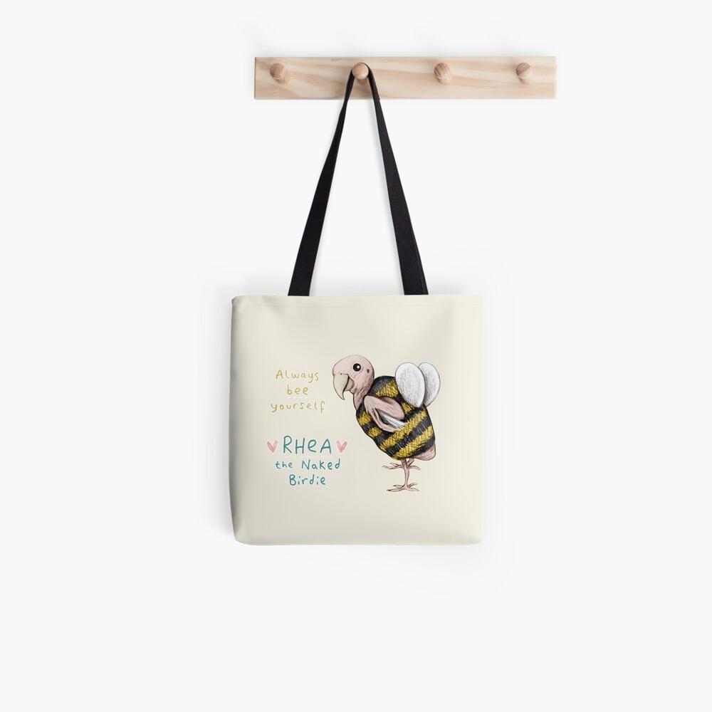 Rhea - immer Biene selbst Tote Bag