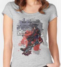 vanitas Quotation Women's Fitted Scoop T-Shirt