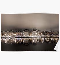 Stockholm Reflection Poster