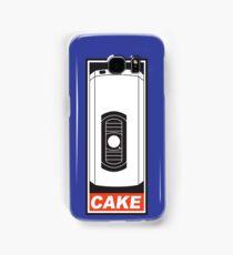 Cake is a Lie Samsung Galaxy Case/Skin