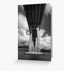 Towering Bridge Greeting Card