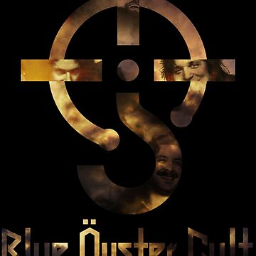 Blue oyster cult black back by faunatorium