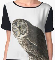 Great Gray Owl -  Women's Chiffon Top