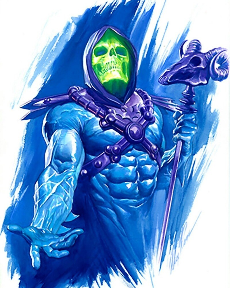 Quot He Man Skeletor Drawing Quot By Enzyorg Redbubble