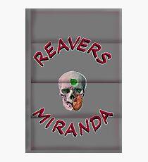 Reavers Miranda on Metal Photographic Print