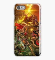 He Man Battle The masters of the universe  iPhone Case/Skin