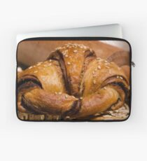 Chocolate filled croissant pastry snack Laptop Sleeve