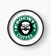 f society coffee Clock