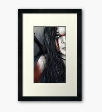 Barbarian Princess Framed Print
