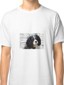 King Charles Cavalier Portrait Classic T-Shirt