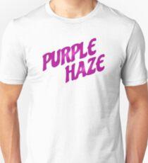 jimi hendrix rock icon song lyrics purple haze all along the watchtower hippie rocker psychedelic t shirts Unisex T-Shirt