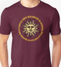 david bowie sun machine memory of a free festival lyrics rock n roll hippie rocker t shirts Unisex T-Shirt
